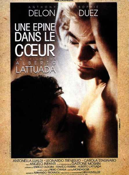 Une épine dans le coeur, affiche du film de Latuada