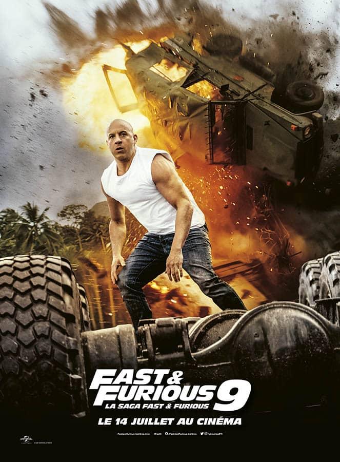 Affiche définitive alternative de Fast & Furious 9 La saga Fast & Furious