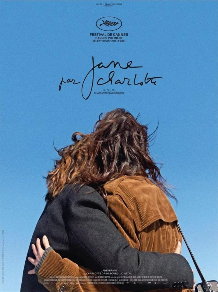 Affiche de Jane par Charlotte de Serge Gainsbourg