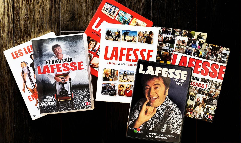 Les DVD de Lafesse