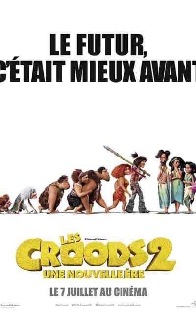 Les Croods 2 une nouvelle ère, affiche évolution