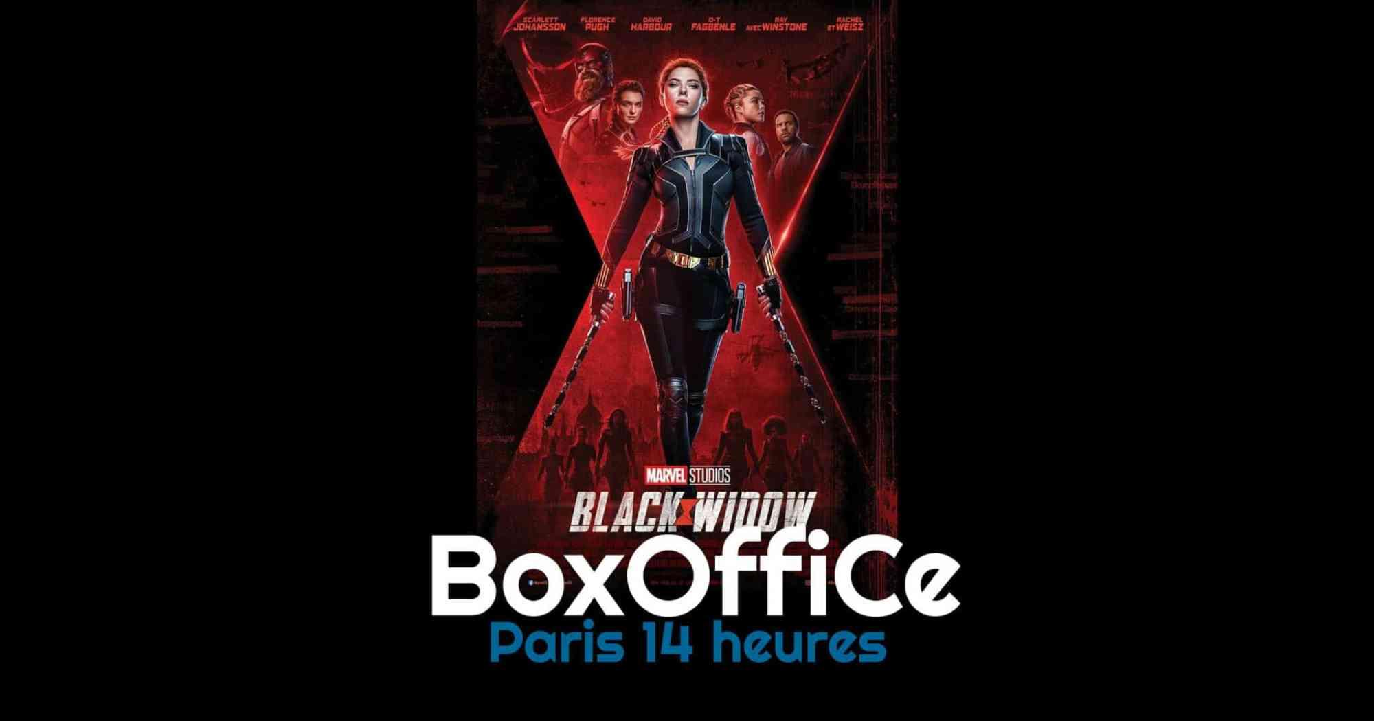 Box-office Paris 14 : Black Widow triomphe