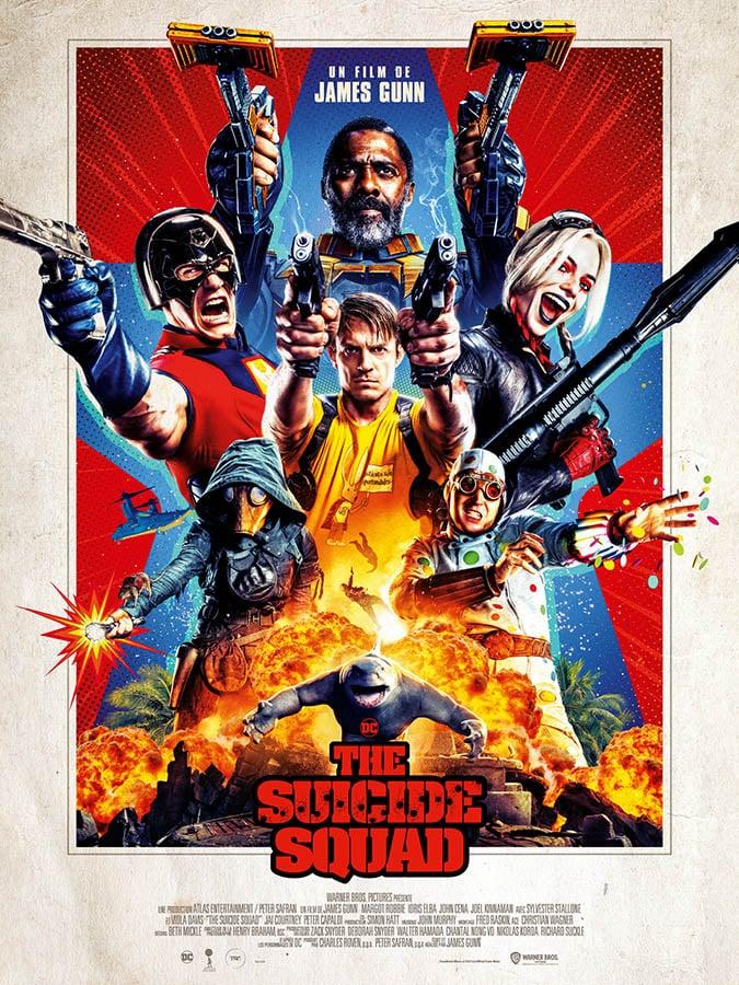 The Suicide Squad, affiche définitive