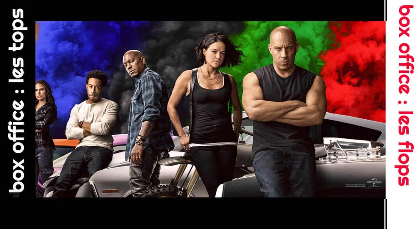 Top Flop : Fast & Furious 9 entre numéro 1 du box-office