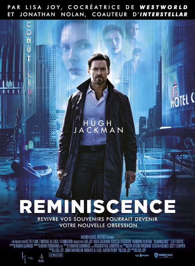 Reminiscence, affiche du film avec Hugh Jackman