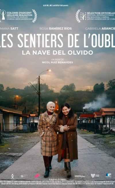 Les sentiers de l'oubli, affiche du film de Nicol Ruiz Benavides