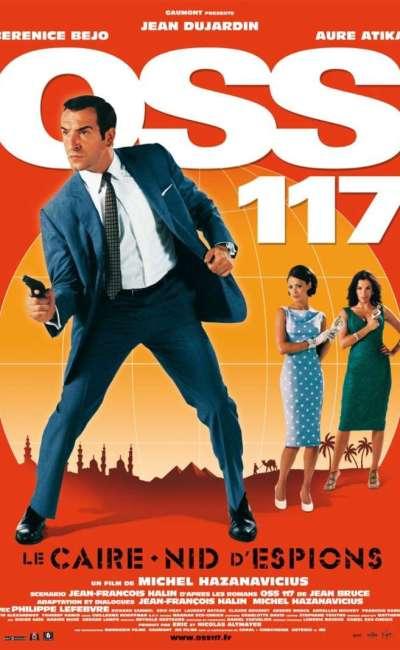 OSS 117, Le Caire nid d'espions, l'affiche