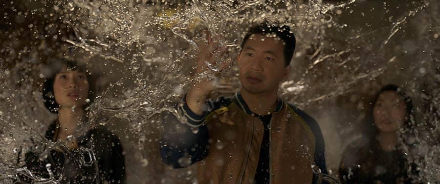Simu Liu dans Shang-Chi et la légende des dix anneaux