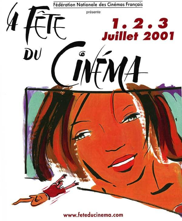 Affiche de la Fête du Cinéma 2001
