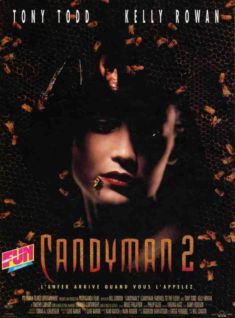 Candyman 2, affiche du film de Bill Condon