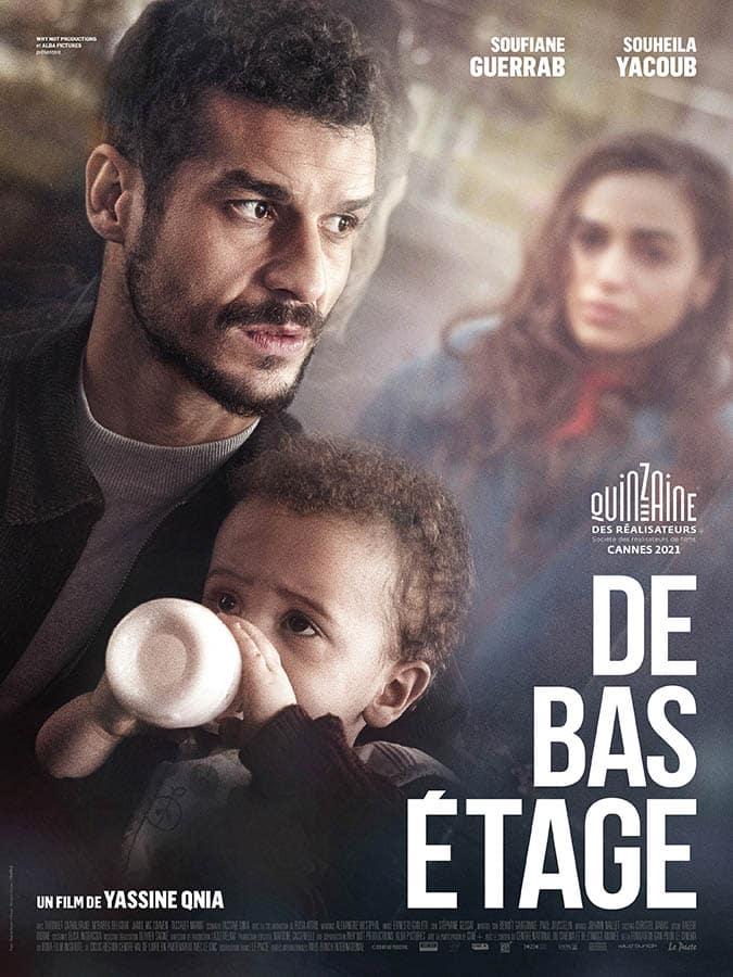 De bas étahe de Yassine Qnia, affiche du film (2021)