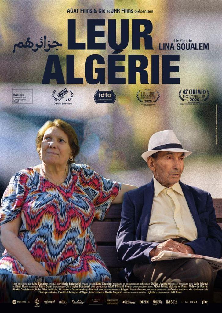 Leur Algérie, affiche du film de Lina Soualem
