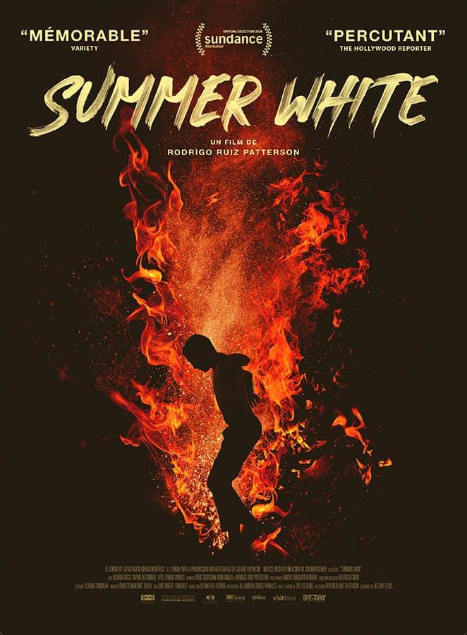 Summer White, affiche du film