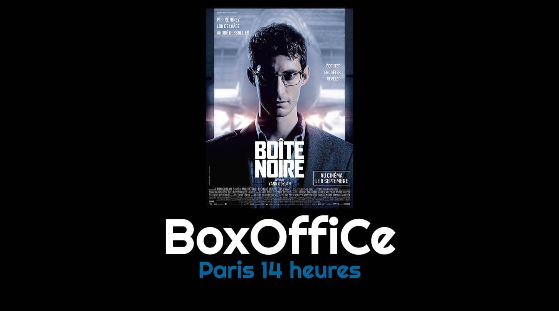 Boîte Noire, box-office Paris 14h