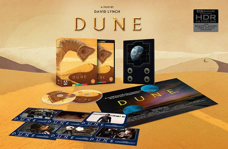 Edition collector de Dune (1984) chez Arrows Vidéo en 2021