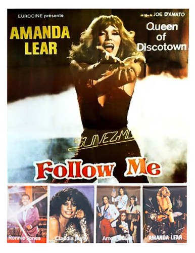 Affiche de Follow Me, avec Amanda Lear