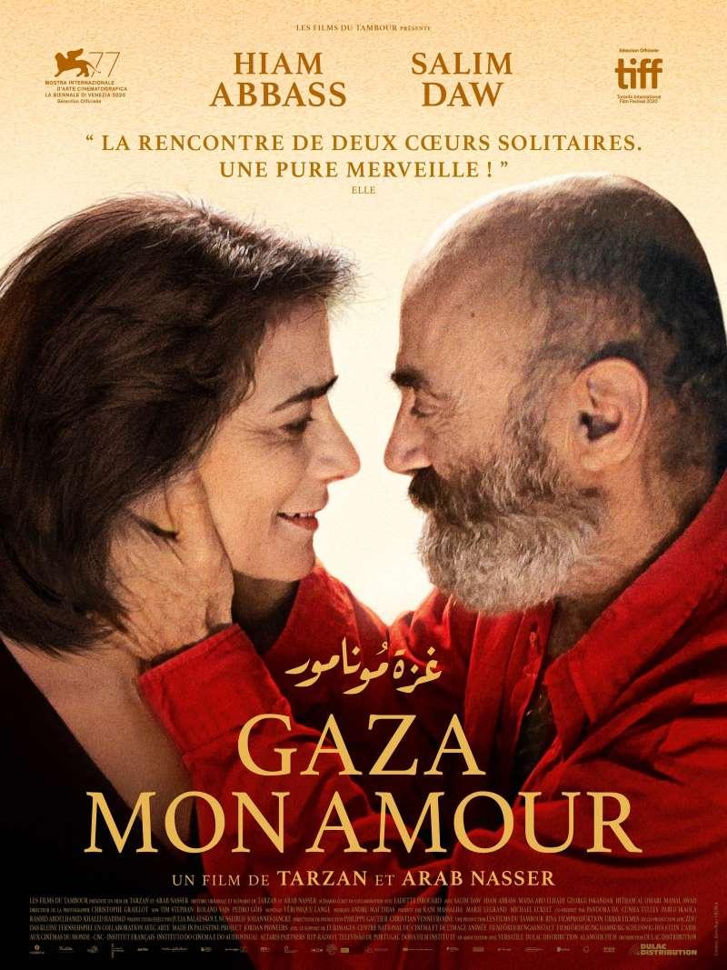 Gaza mon amour, l'affiche