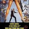 Rien que pour vos yeux, affiche française (James Bond)