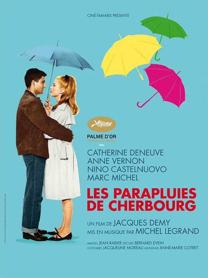 Les Parapluie de Cherbourg, affiche reprise 2013