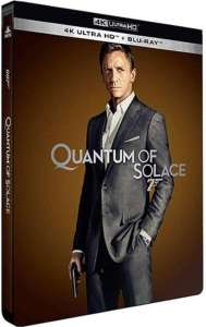 Quantum of Solace, jaquette UHD 4K