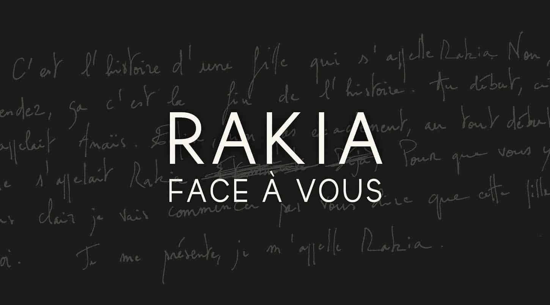 Rakia, Face à vous, nouveau single