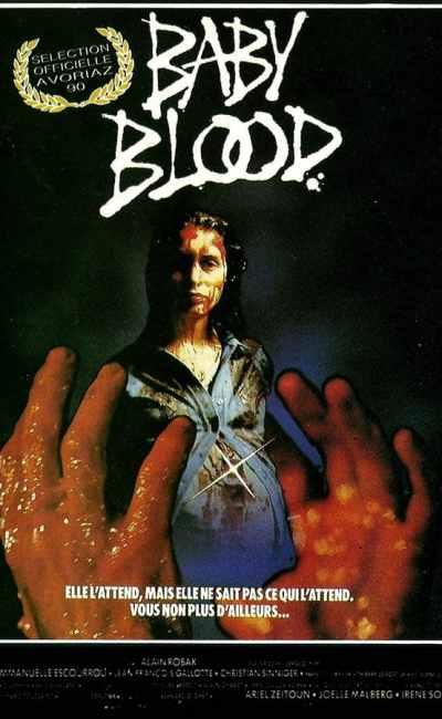 Baby Blood, sélection officielle Avoriaz 1990, affiche