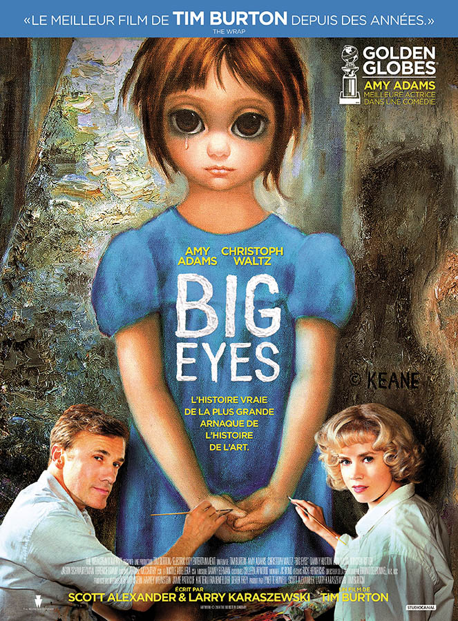 Big Eyes, affiche du film