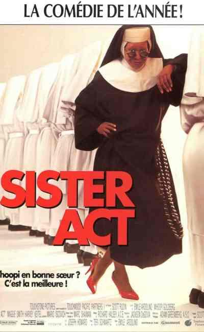 Sister Act, affiche du film avec Whoopi Goldberg