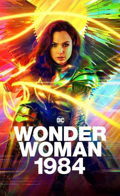 Wonder Woman 1984, affiche VOD