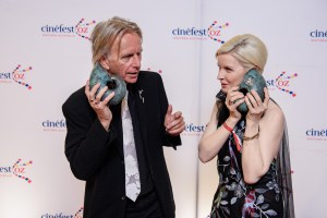 Scott Hicks and Jacqueline McKenzie - Screen Legend Awards