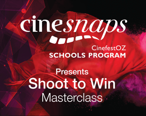 CinesfestOZ launches a Myles Pollard Masterclass for schools in its first CineOnline session 1