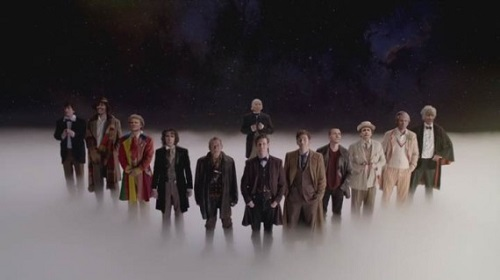 The Day of the Doctor todos los doctores