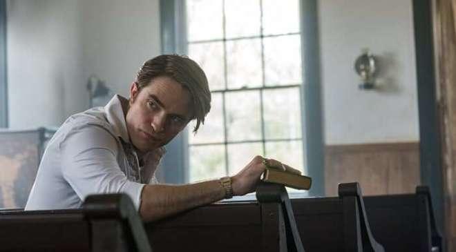 El diablo a todas horas Robert Pattinson