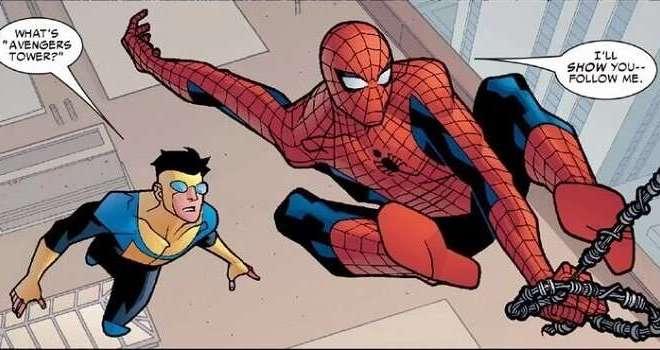 Invencible Spiderman