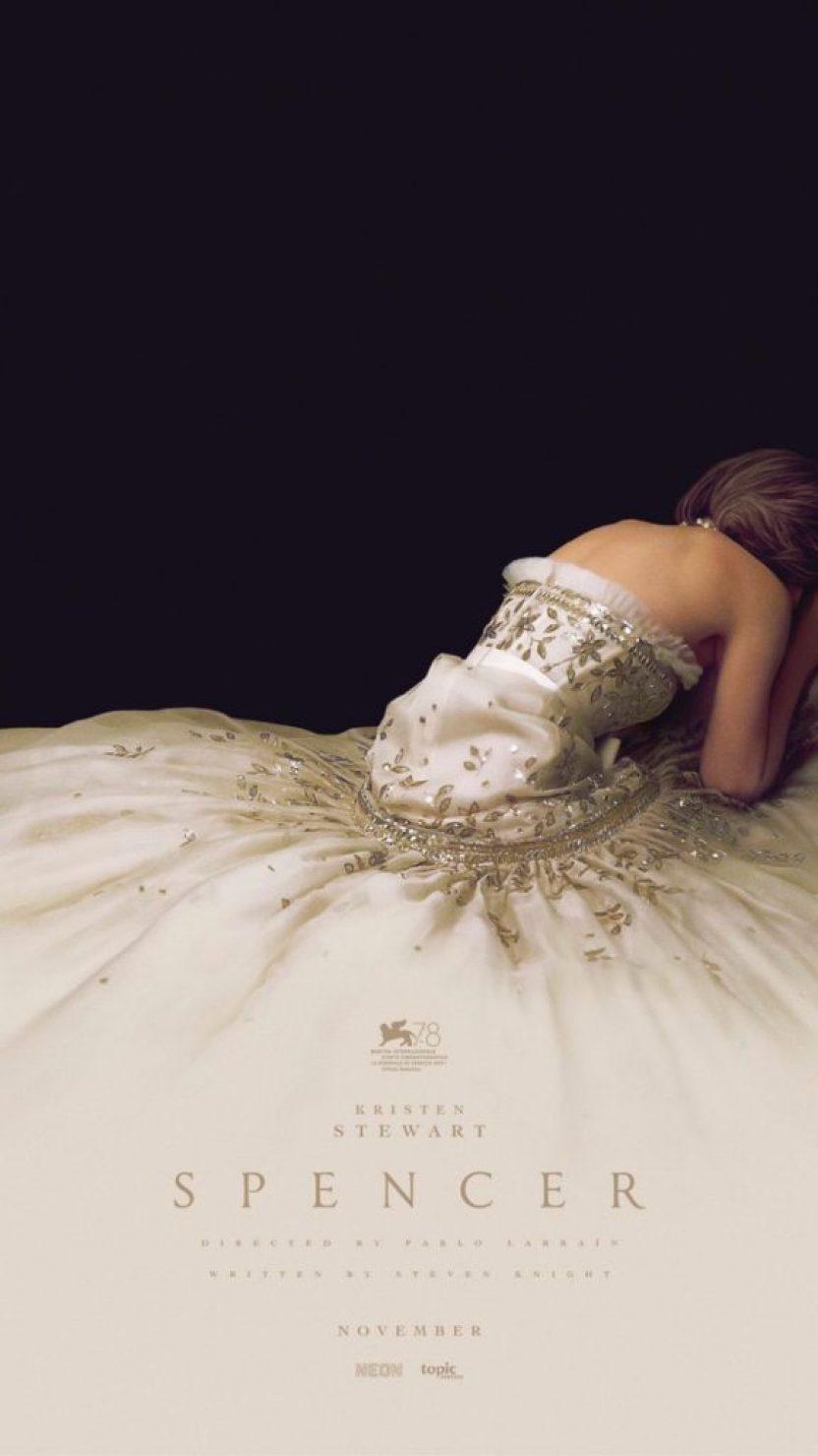 Salió el póster oficial de Spencer, la película de Diana dirigida por Larraín