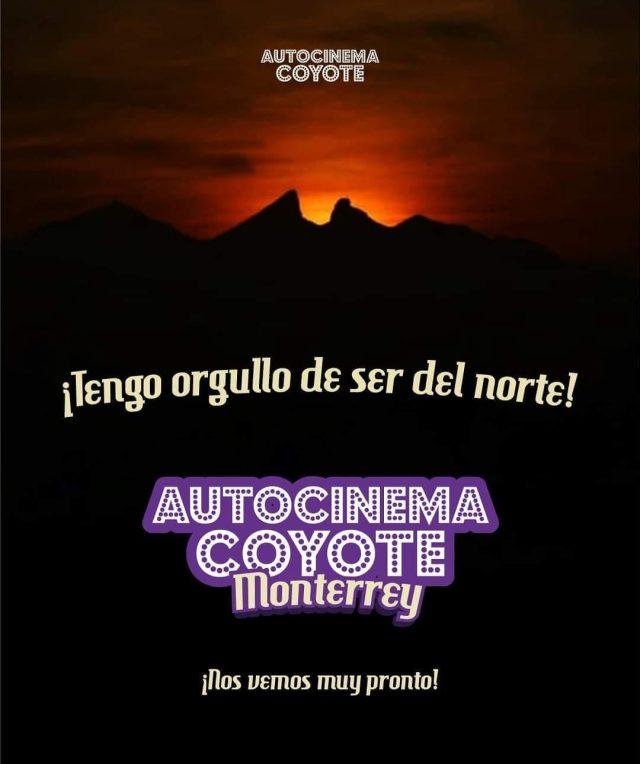 Nueva sede de Autocinema Coyote