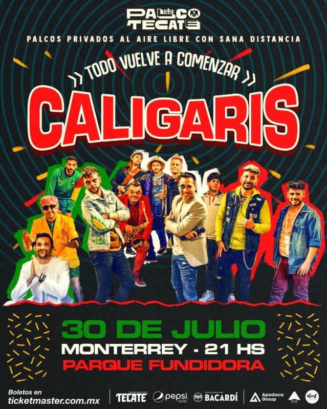 Palco Tecate: Caligaris