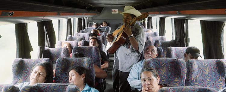 Por los camiones del sur | On Southern Buses