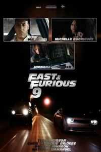 """Affiche du film """"Fast & Furious 9"""""""