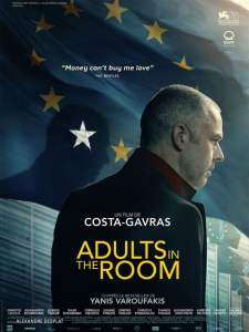 """Affiche du film """"Adults in the Room"""""""