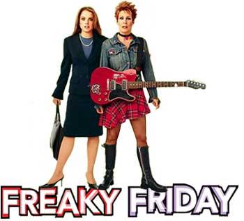 Lindsay Lohan Jamie Lee Curtis in Freaky Friday