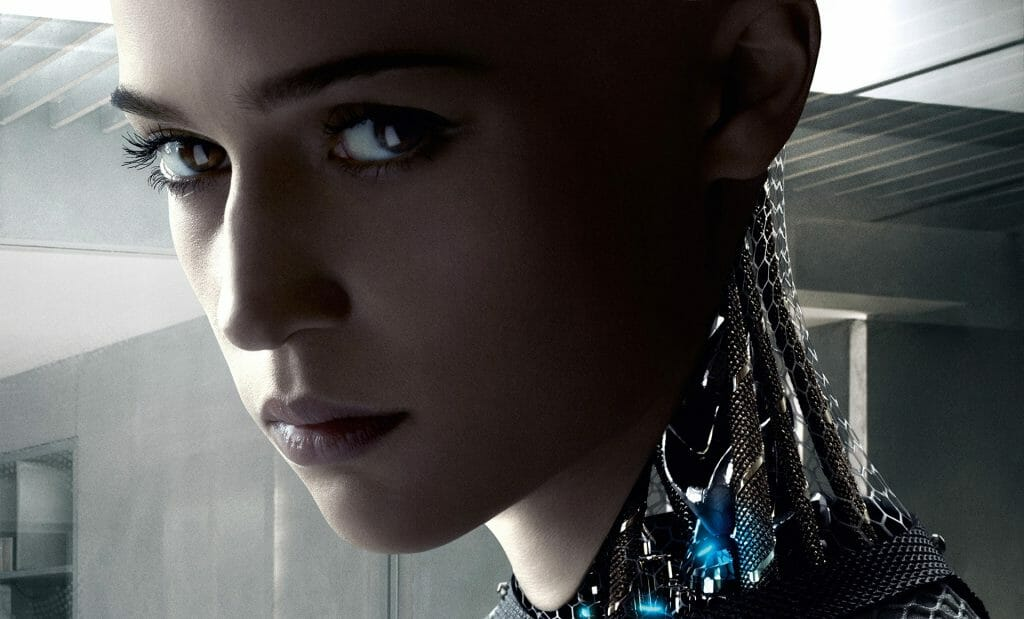mame cinema EX MACHINA - STASERA IN TV IL FILM DI ALEX GARLAND evidenza