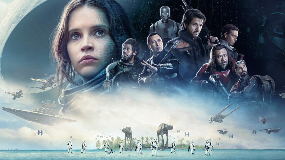 mame cinema ROGUE ONE A STAR WARS STORY - STASERA IN TV evidenza