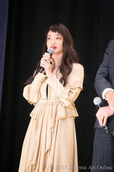 映画『幸福のアリバイ~Picture~』公開初日舞台挨拶 (入山法子)