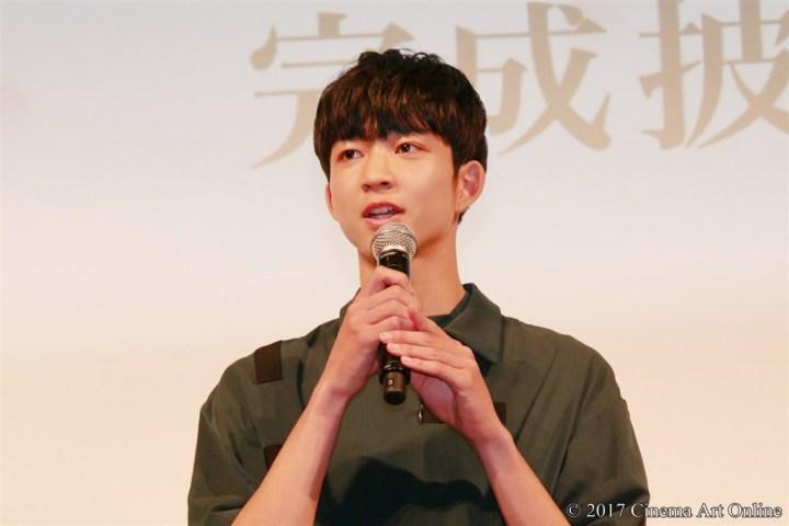 映画「心に吹く風」完成披露試写会披露イベント 鈴木仁