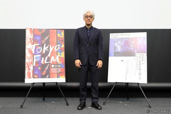 【写真】第30回 東京国際映画祭 TIFFマスタークラス 第4回 SAMURAI(サムライ)賞授賞記念 「坂本龍一スペシャルトークイベント~映像と音の関係~」坂本龍一フォトセッション