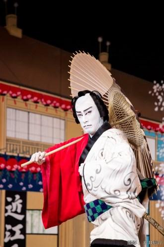 【写真】歌舞伎『男伊達 花の廓』市川海老蔵