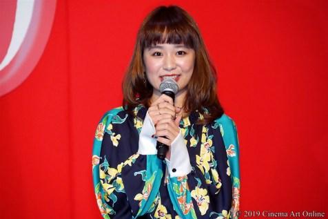 【写真】映画『麻雀放浪記2020』完成報告ステージイベント (もも)