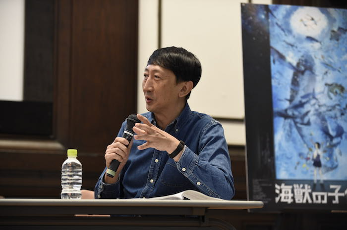 【画像】映画『海獣の子供』×「大哺乳類展2」スペシャルトークイベント渡辺歩監督