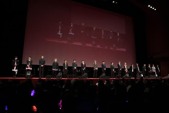 【写真】映画『劇場版 うたの☆プリンスさまっ♪ マジLOVEキングダム』公開記念舞台挨拶 (総勢18名の豪華キャスト)